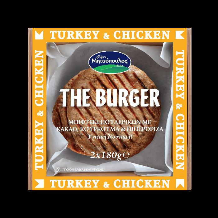turkey chicken the burger